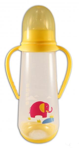 Lahvička Akuku 250ml - žlutá