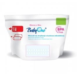 BabyOno Sáčky do mikrovlnné trouby k sterilizaci