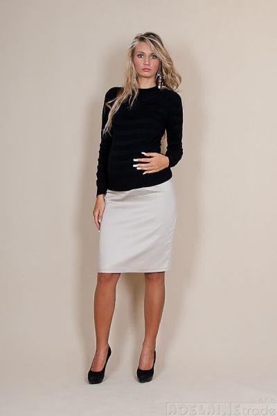 Be MaaMaa Těhotenské sukně Melanie - béžová