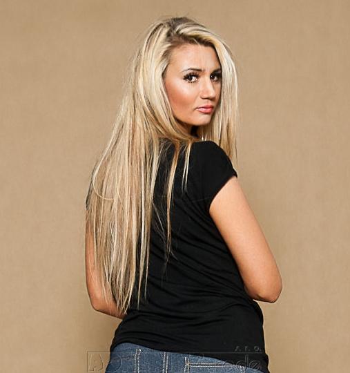 Be MaaMaa Těhotenské triko/halenka ELISSA - černá/bílá