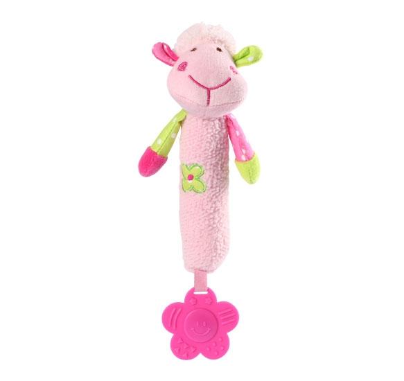 Edukační hračka Baby Ono - pískací - Ovečka