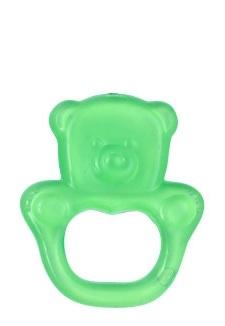 BabyOno Kousátko gelové Baby Ono Medvídek - Zelené
