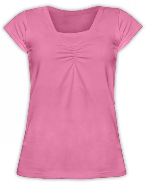 JOŽÁNEK Kojící,těhotenské triko KARIN - růžové