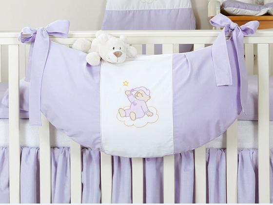 Luxusní kapsář na hračky - Mraček lila