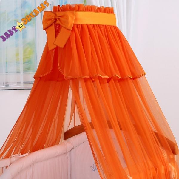 Nebesa šifon - pomerančové