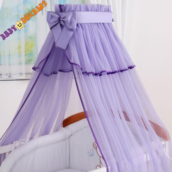 Nebesa šifon - fialová - barva: Fialová