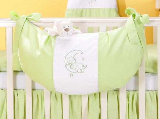 Luxusní kapsář na hračky - Měsíček zelený