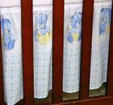 Krásný volánek pod matraci - Babyland v modrém