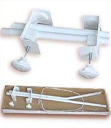 Mamo Tato Konstrukce - držák nebes/moskytiery - bílý