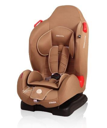 Coto Baby Autosedačka Strada 2016,  9-25kg  - káva 11