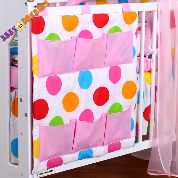 Kapsář BUBBLE Baby Dreams - léto - růžové kapsičky