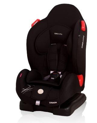Coto Baby Autosedačka Strada 9-25kg   - černá 01