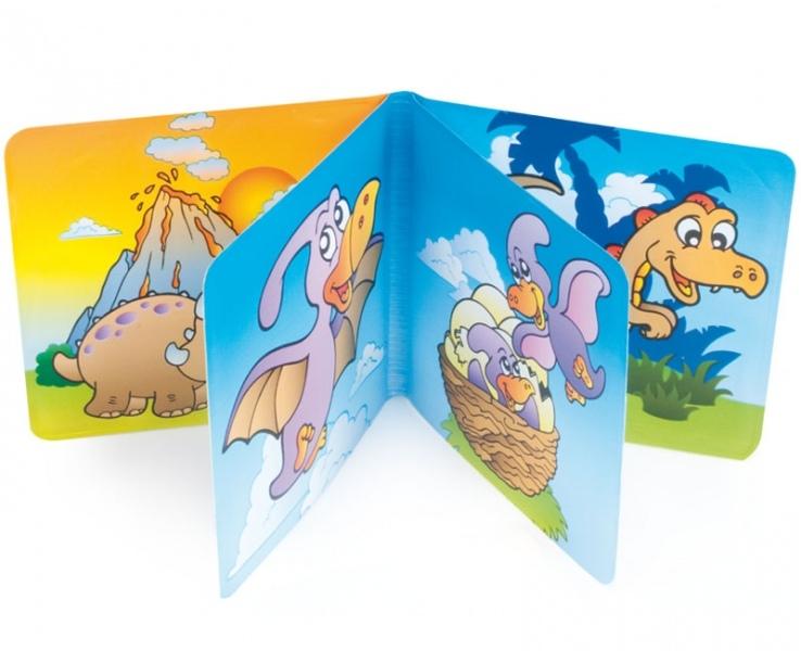 Měkká knížka Canpol Babies - Dino svět