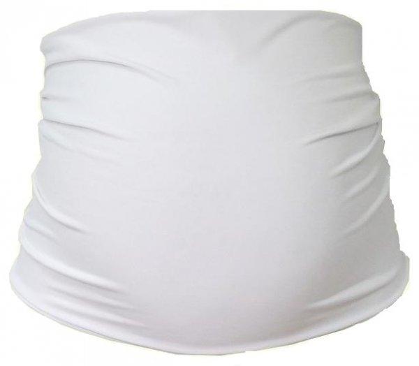 Těhotenský pás - bílá