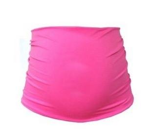 Be MaaMaa Těhotenský pás - růžová