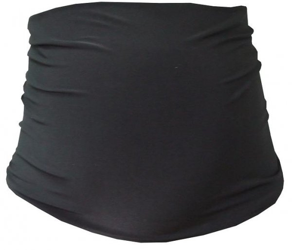 Be MaaMaa Těhotenský pás - černá