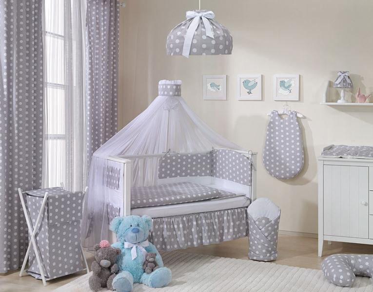 Lustr do dětského pokojíčku - Bubble retro - šedé