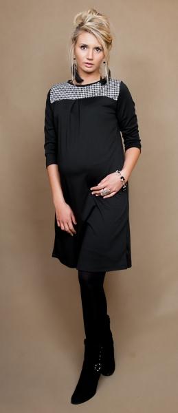 Be MaaMaa Těhotenské šaty/tunika LANA  dl. rukáv