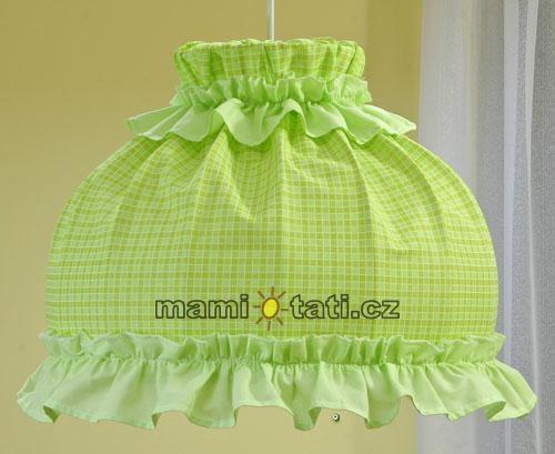 Lustr do dětského pokojíčku - Kostička zelená