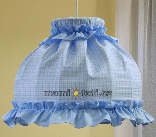Lustr do dětského pokojíčku - Kostička modrá