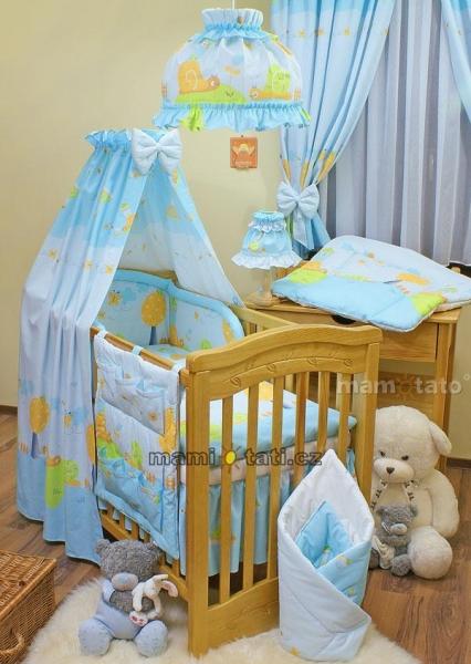 Lustr do dětského pokojíčku - Šnek modrý