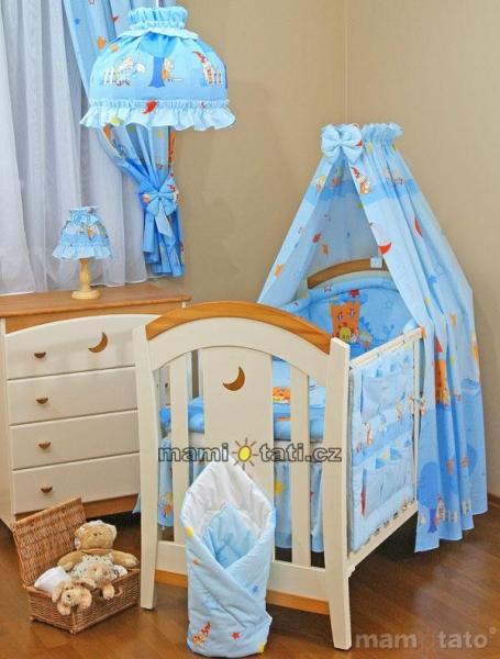 Lustr do dětského pokojíčku - Zámek modrý
