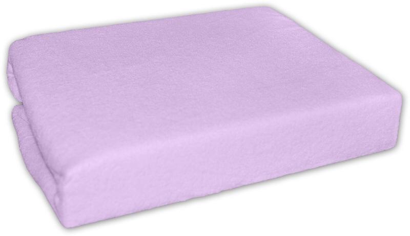 Froté prostěradlo 140x70cm - lila - fialková
