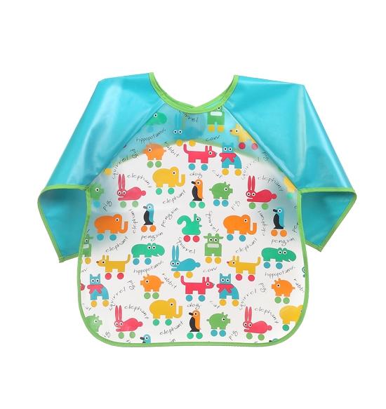 Dětská zástěrka Baby Ono 36m+ - vzor: Zvířátka, nr.kat. 872, BO