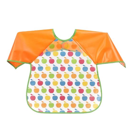 Dětská zástěrka Baby Ono 24m+ - vzor: Jablíčka, nr.kat. 871, BO
