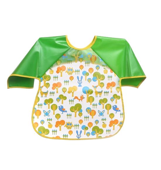 Dětská zástěrka Baby Ono 24m+ - vzor: Zvířátka z lesa, nr.kat. 871, BO