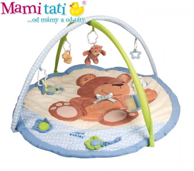 Hrací deka Canpol Babies - Medvídek