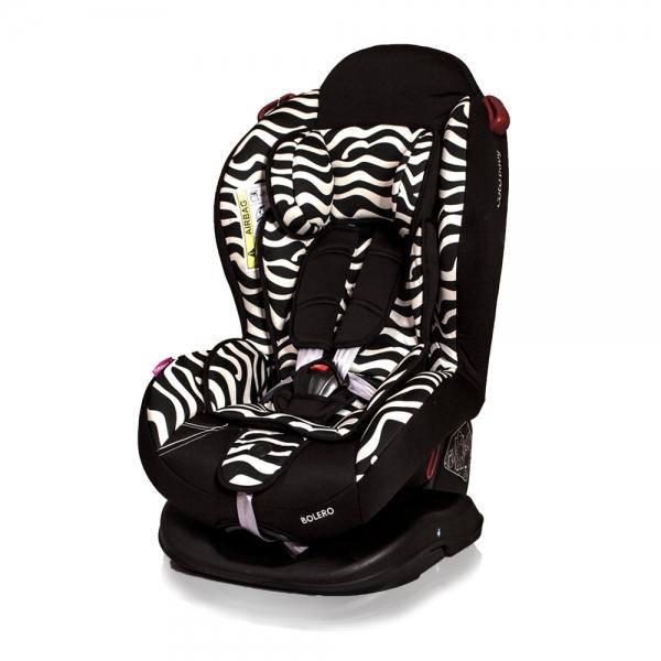 Autosedačka BOLERO - 0-25 kg - zebra