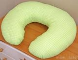 Kojící polštář - Kostička zelená