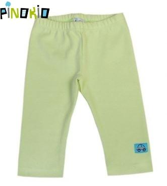 Legínky/tepláčky PINOKIO - zelená, Velikost: 74 (6-9m)