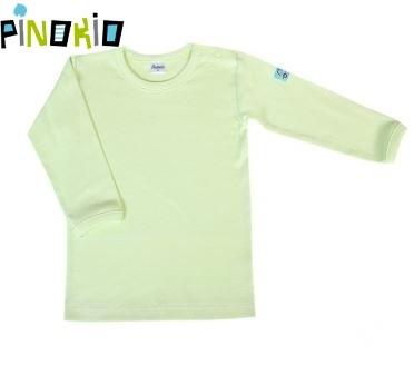 Tričko dl.rukáv PINOKIO - zelená, Velikost: 80 (9-12m)