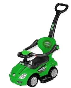 Odstrkovadlo,odrážedlo 3v1 BabyMix (Jezdítko pro děti UR-Z381 zelené)