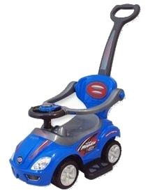 Odstrkovadlo,odrážedlo 3v1 BabyMix (Jezdítko pro děti UR-Z381 modré)