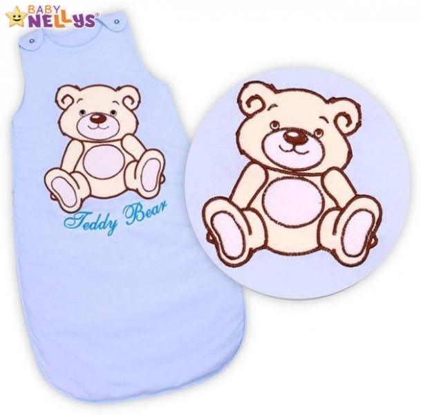 Spací vak Teddy Bear, Baby Nellys - sv. modrý vel. 1