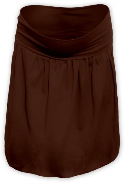 Balónová sukně - hnědá