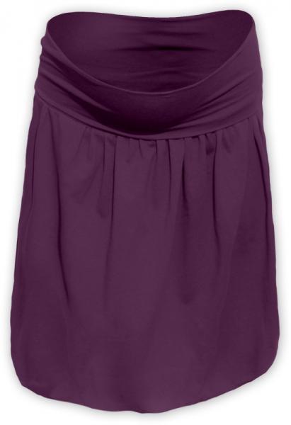Balónová sukně - švestková
