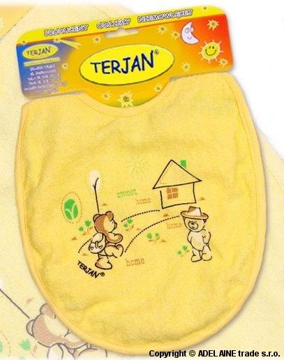 Bryndáček Terjan velký - žlutý/krémový
