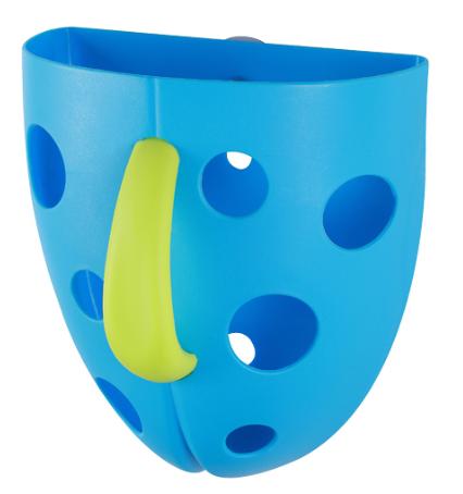 Box,nádobka na hračky do vody - modrý