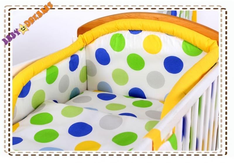 Baby Nellys Bavlněné povlečení Baby Dreams Bubble - Happy, Velikost: 120x90
