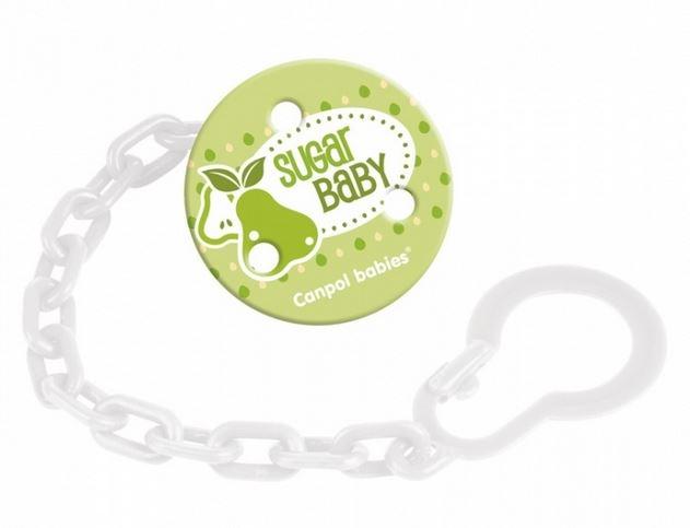Řetízek na dudlík  Canpol Babies - Ovoce - Sugar Baby