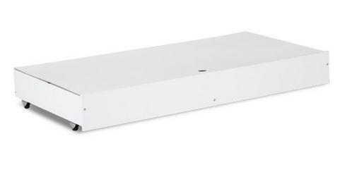 Šuplík k postýlkám Safari 120x60 - Bílá/šedobílý