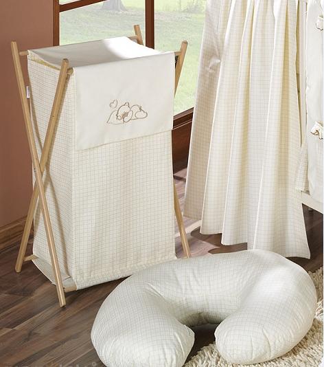 Luxusní praktický koš na prádlo - SNÍLEK ecru