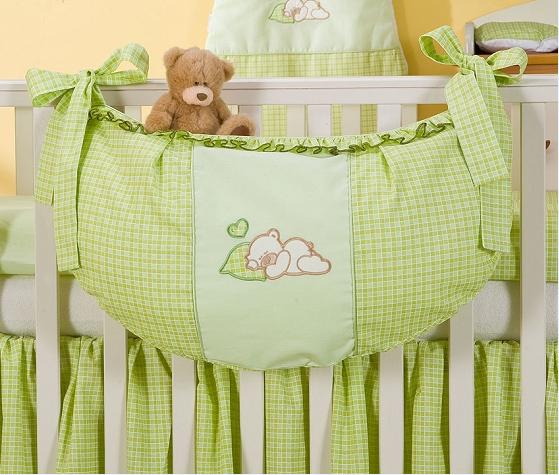 Luxusní kapsář na hračky - Snílek zelený