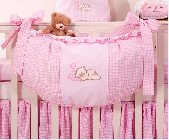 Luxusní kapsář na hračky - Snílek růžový