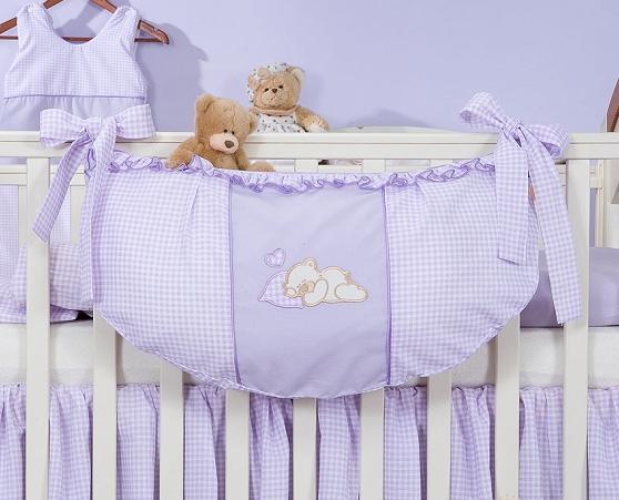 Luxusní kapsář na hračky - Snílek fialový