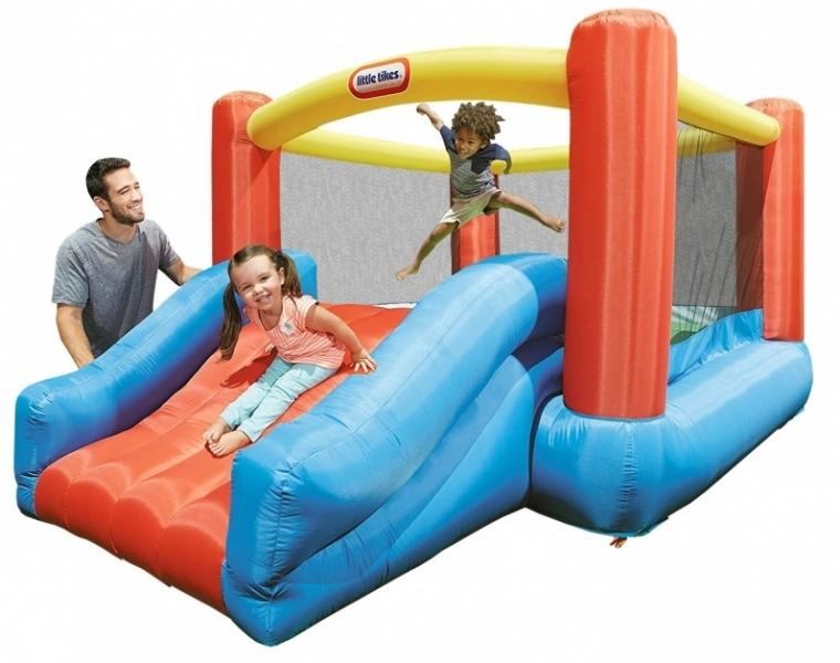 Nafukovací dětské hřiště se skluzavkou - Jr. Jump'n Slide